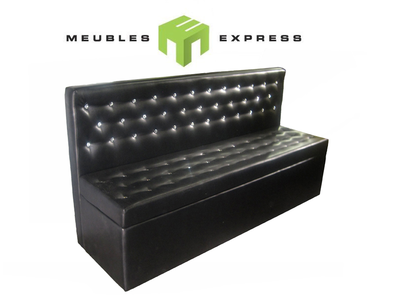 causeuse banquette sur mesure pour salle de r ception meubles express. Black Bedroom Furniture Sets. Home Design Ideas