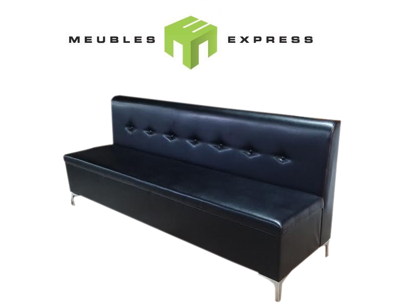 banquette sur mesure pour restaurant salon de coiffure bar meubles express. Black Bedroom Furniture Sets. Home Design Ideas