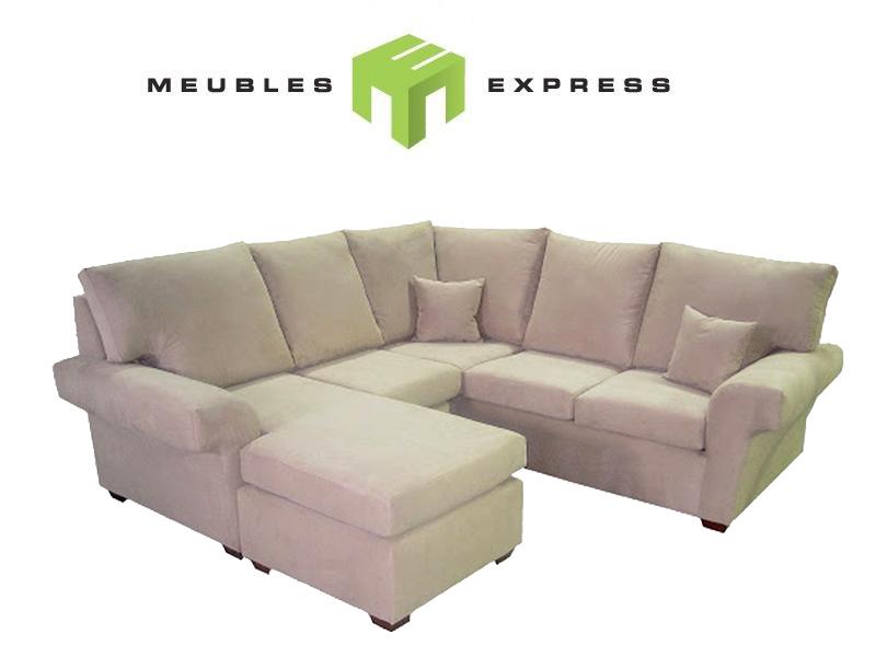 Sectionnel sur mesure montr al chablis meubles express for Liquidation sectionnel
