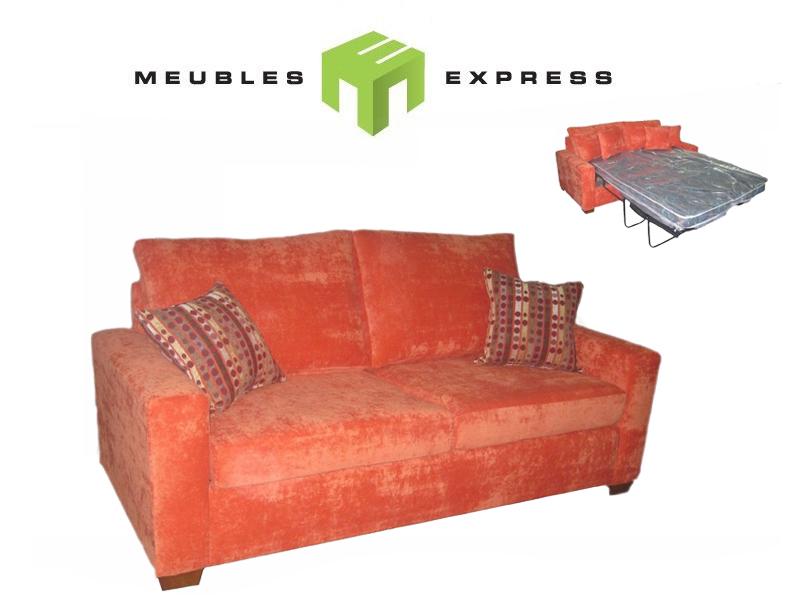 Sofa lit double meubles express - Sofa lit liquidation ...