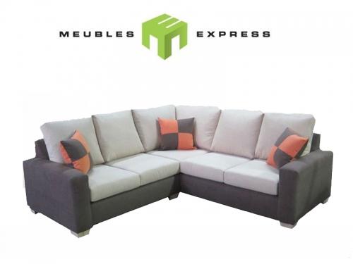 Canap sectionnel mod le sauterne meubles express for Divan lit sectionnel