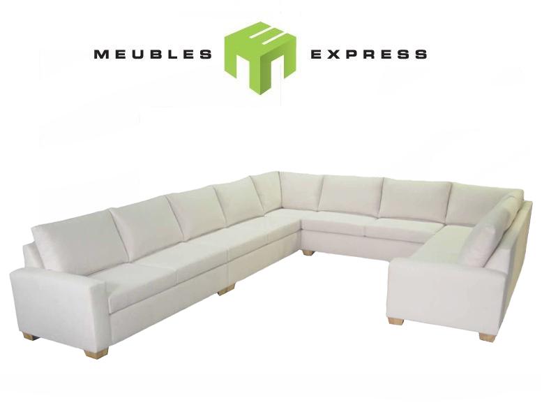 mobilier de salon sectionnel sur mesure