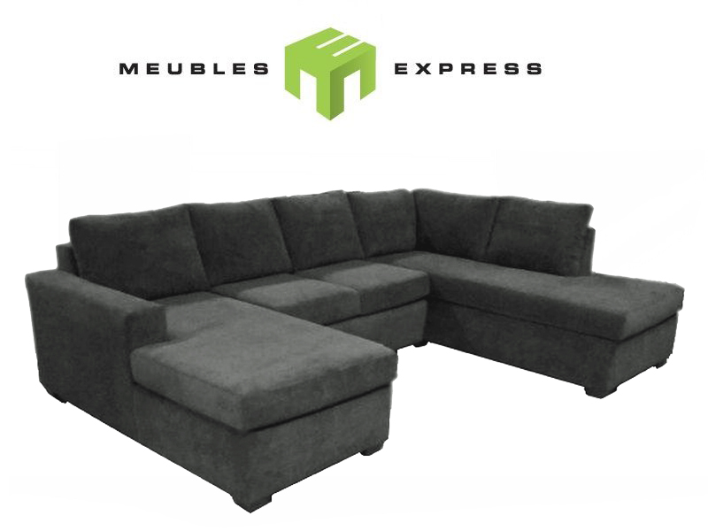 Sofa lit sectionnel cuir home for Meuble brick montreal