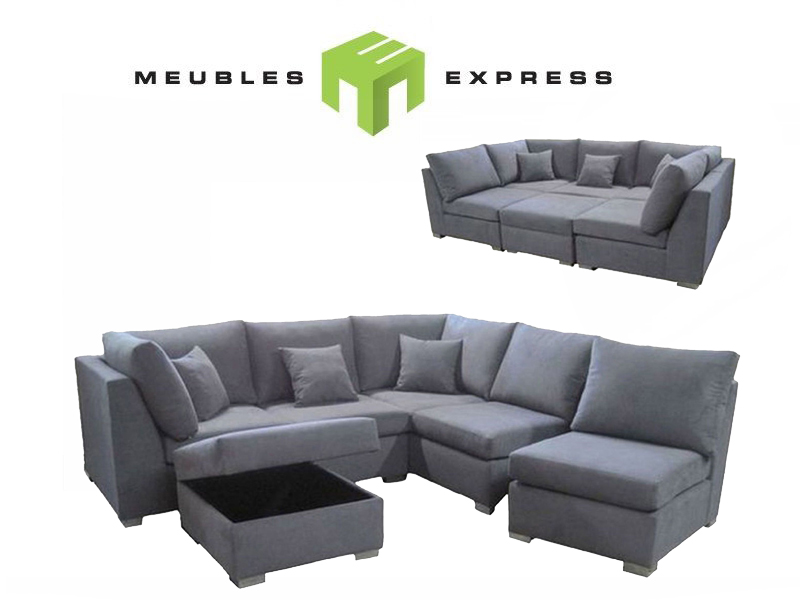 Recamier sofa montreal sofa the honoroak for Meubles sectionnels montreal