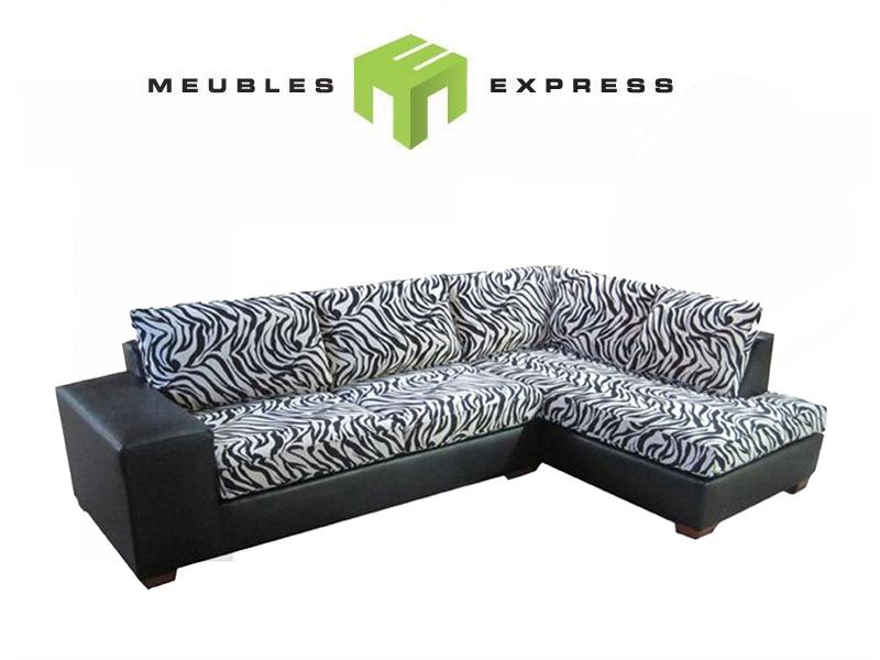 Sofa sectionnel mod le alsace meubles express for Liquidation sectionnel