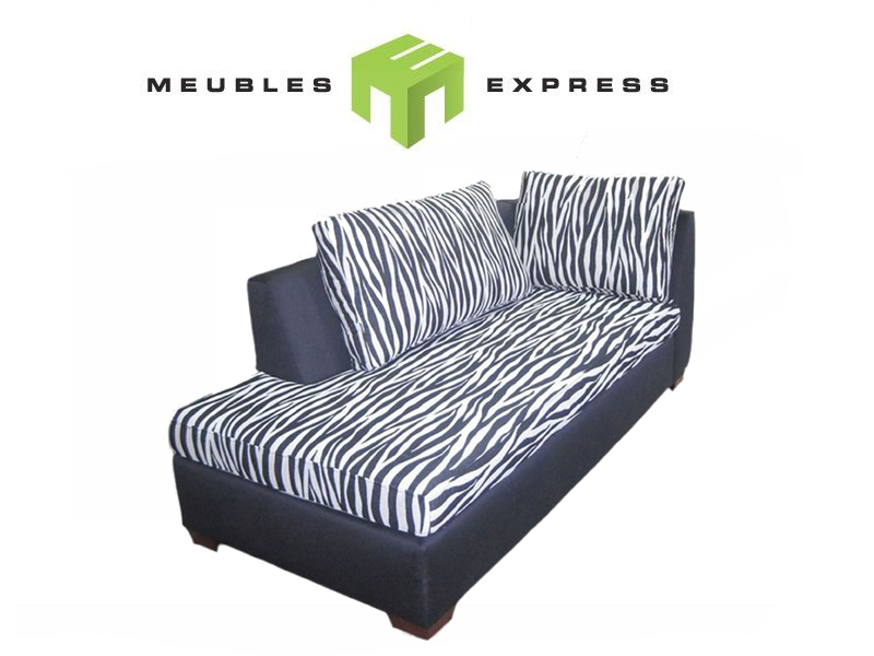 fauteuil r camier allong sur mesure meubles express. Black Bedroom Furniture Sets. Home Design Ideas