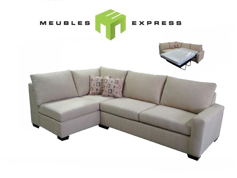 Sofa sectionnel avec lit double mod le sauterne - Sofa lit liquidation ...