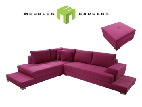 Sofa condo lit avec m ridienne interchangeable mod le for Sofa en liquidation