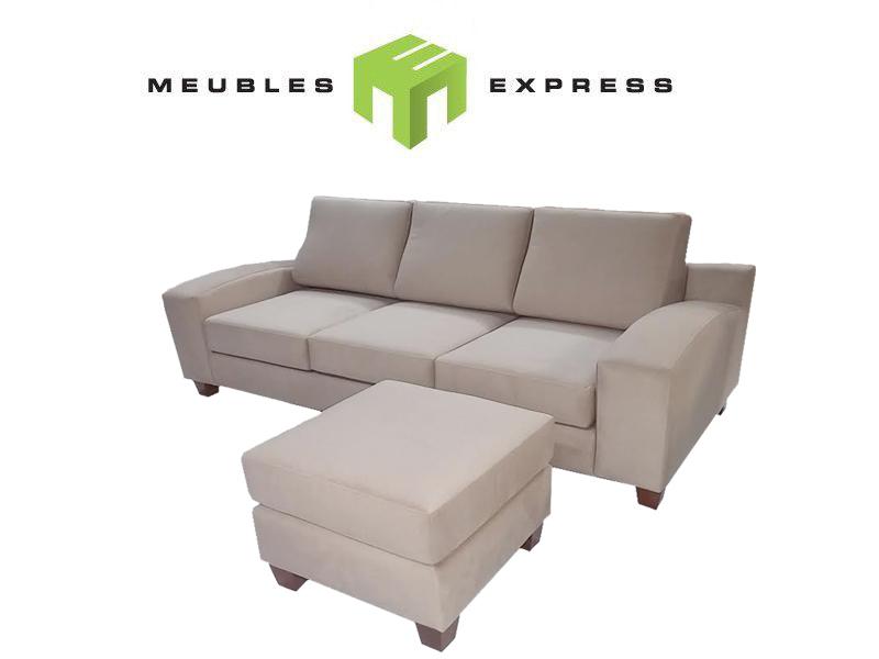 sofa sectionnel beaujolais directement du fabricant meubles express. Black Bedroom Furniture Sets. Home Design Ideas