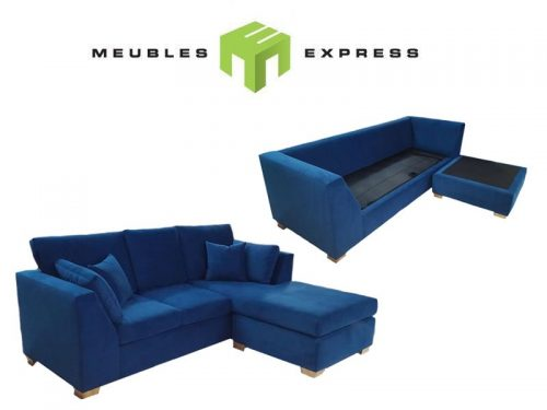 Mobiler de salon meubles express for Sofa modulaire liquidation